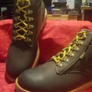 Polo Ralph Lauren Mens Meltham Combat Boot